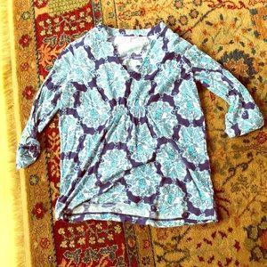 Tops - Lilly Pulitzer cotton tunic size medium